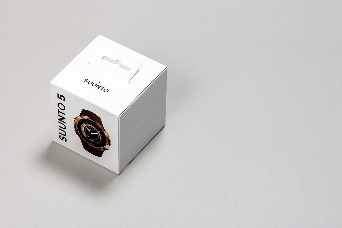 Suunto watches retail display design
