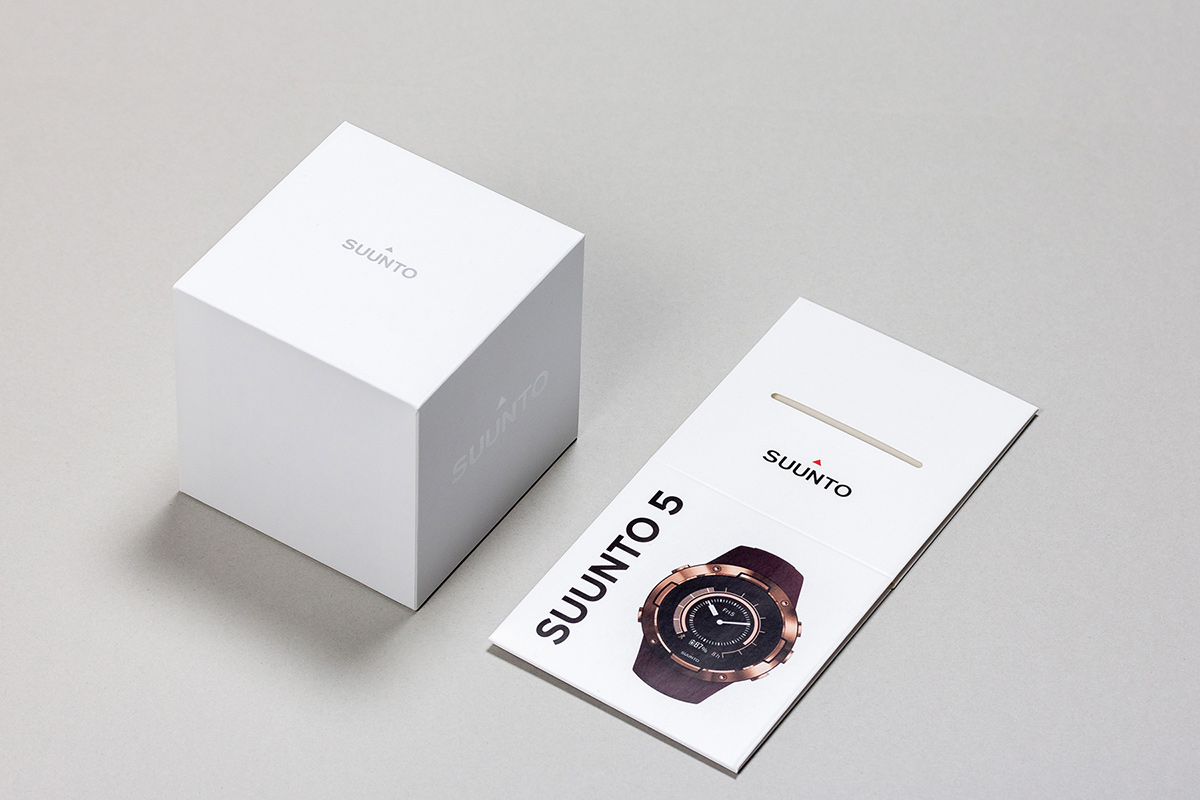 Suunto sport watches packaging design