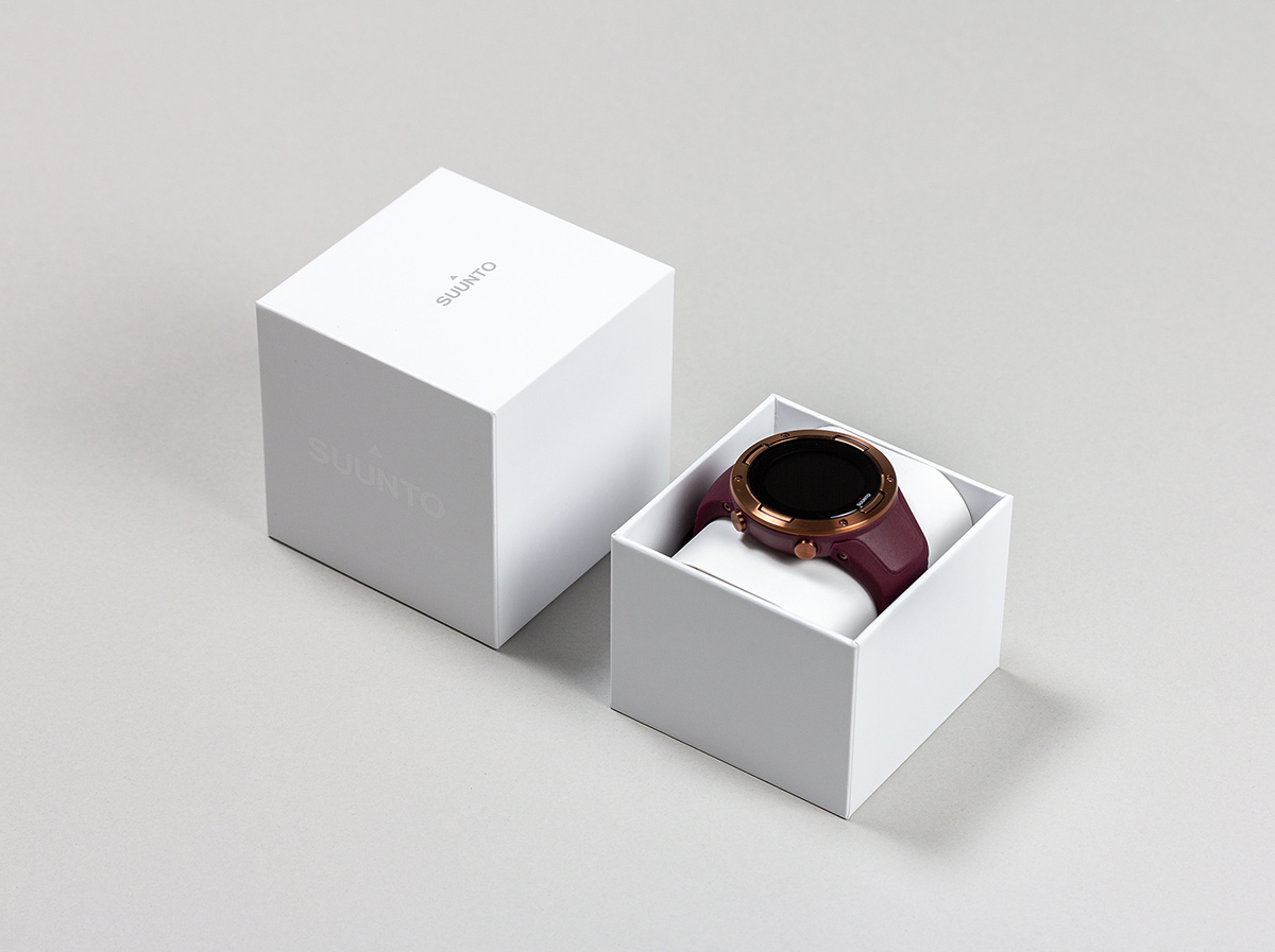 Suunto watches packaging design