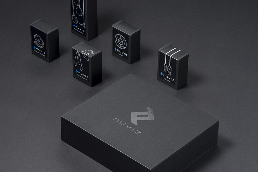 Nuviz product packaging design